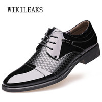 8fa775bfd7 Patent Leather Italian Mens Shoes Formal Wedding Shoes Oxford Shoes For  Mens Pointed Toe Business Dress. US  43.86 US  22.37. Mens sapatos de couro  italiano ...