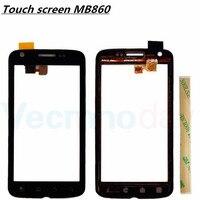 Vecmnoday 2 pz Per Motorola ATRIX 4G MB860 Digitizer Anteriore In Vetro Lamiera di Riparazione Touch Screen Con pezzi di Ricambio Telaio + 3 m colla