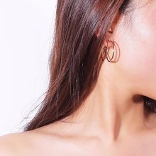 Fine Jewelry For Women Fashion Earrings Snail Animal Golden Earrings Geometric Earring Funny Jewellery New Stud Earrings(China)