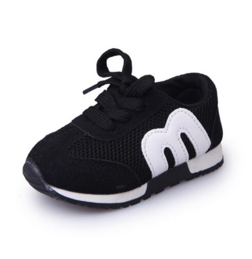 92d18d9458415 New Spring Children Sport Sneakers Kids Soft Letter Breathable Running  Shoes Girls Boys Loafers Toddler Shoes Enfant Chaussure