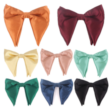 Fashion Bow Tie For Men Women Classic Big Bowtie Party Wedding Bowknot Adult Mens Bowties Cravats Red Yellow