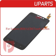 For Lenovo S650 LCD Display Touch Screen Original Digitizer Glass Panel For Lenovo 4 7 inch