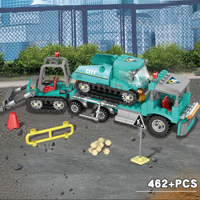 4-in1-City-Engineering-Construction-Excavator-Vehicles-Truck-Building-Blocks-Compatible-Technic-City-Bricks-Toys-For (3)