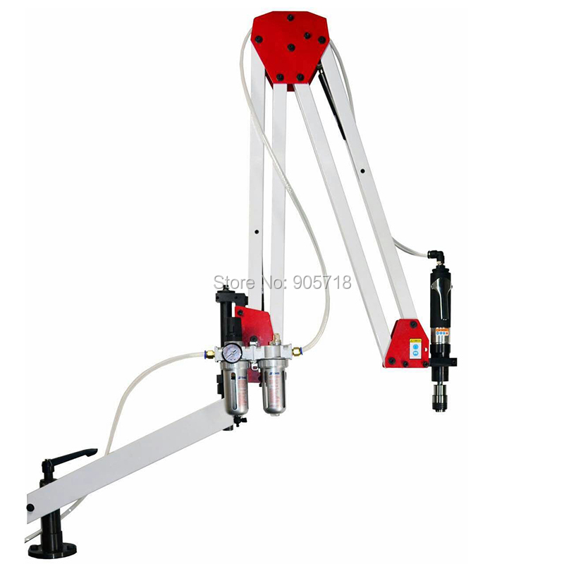 High Quality AT-012-L M3-M12 Automatic Pneumatic Tapping Machine Air Tapper Tool with Work Reach 1900MM high quality at 012 l m3 m12 automatic pneumatic tapping machine air tapper tool with work reach 1900mm