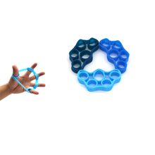 3 pack Finger Strengthener Hand Bands Resistance Extensor Exerciser Grip Strength Trainer Gripper