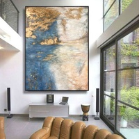 Decent Museum Quality Hand Painted Reproduction Zao Wou Ki / Artist level Linen Canvas / Multiple size options / p