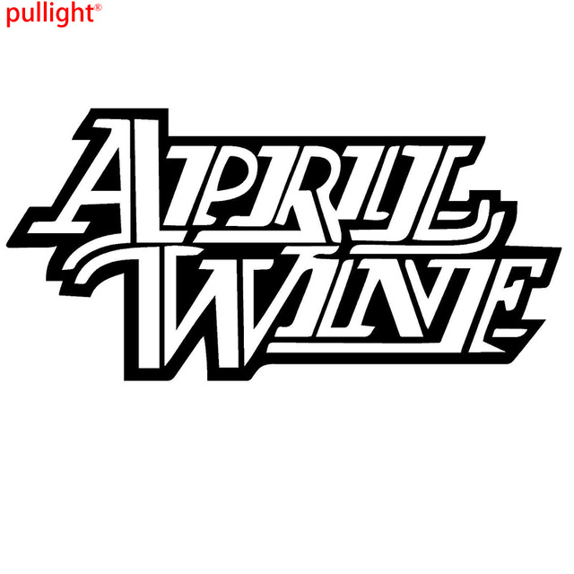 April wine band rock graphic die cut decal sticker car truck boat window