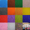 15 colors 2mm 1500pcs Czech Seed Spacer beads Crystal glass beads For jewelry handmade DIY Free shipping BL001-2XX