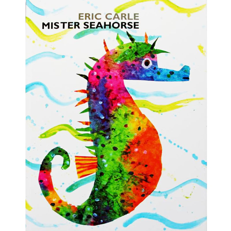 Mister Seahorse By Eric Carle Educational English Picture Book Learning Card Story Book For Baby Kids Children Gifts