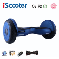 IScooter Hoverboard 10 Inch Bluetooth Two Wheel Smart Self Balancing Scooter Electric Skateboard With Speaker Giroskuter