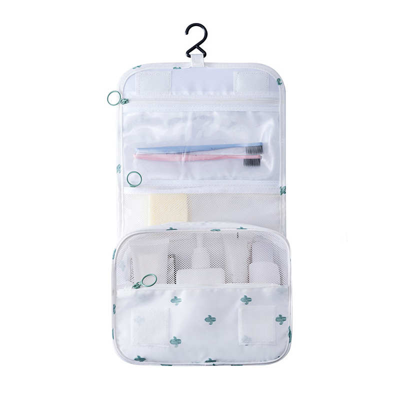 Women Men Hanging Makeup Organizers Wash Bathroom Bags Cosmetic Toiletry Pouch T