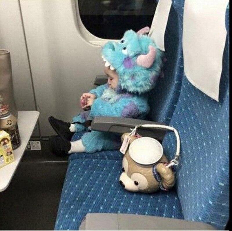 Monsters University Sullivan Pajamas Kids Romper Children Anime Cosplay Baby Clothes Tracksuit Piece