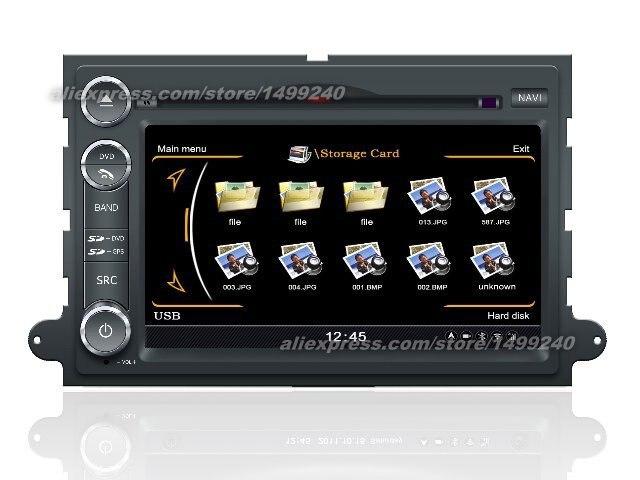 For Ford Explorer 2006~2010 - Car GPS Navigation System + Radio TV DVD iPod BT 3G WIFI HD Screen Multimedia System