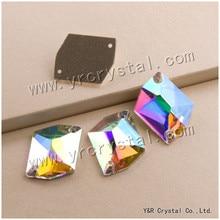 #3265 alle Größen AB Cosmic Nähen Auf Steinen Kristall Flatback Strass Sewing Strass Für Kleid Dekoration
