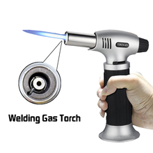 New Multifunction Portable Welding Gas Torch Hiking Camp Fire Starter Maker Auto Ignition Weld Flame Gun Kit