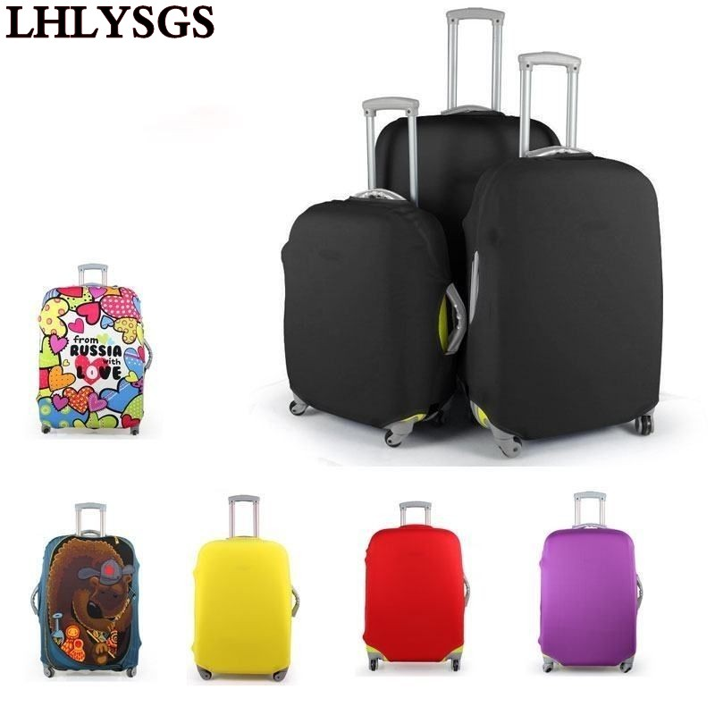 Lhlysg brand women elastic luggage protective cover suitcase dust cover travel accessories for Travel gear brand