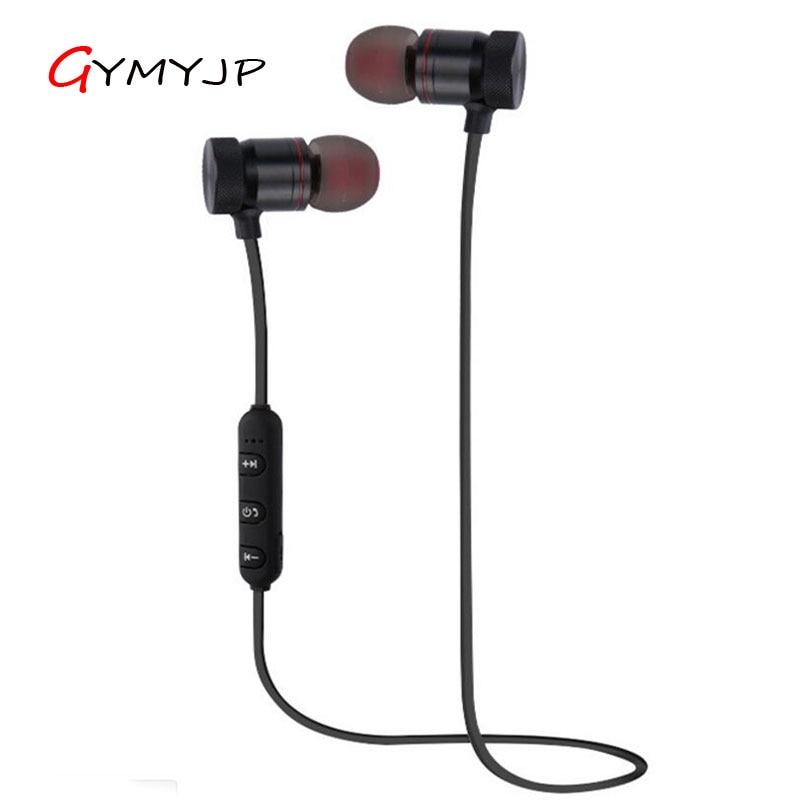 GYMYJP T11 Wireless Headphone Bluetooth Earphone Headphone For Phone Neckband sport earphone Auriculare CSR Bluetooth