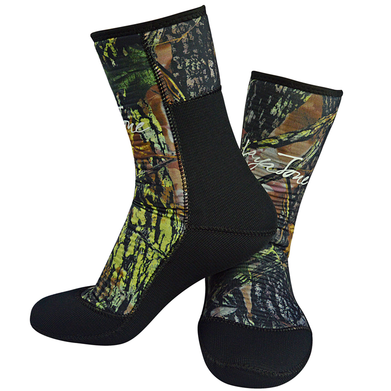 TSMC Wetsuit diving Socks Camouflage 7mm 9mm Neoprene Socks Surfing Shoes For Underwater Hunting Spearfishing Swimming Keep Warm