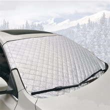 Auto Car Front Windshield Protector Winter Snow Cover Summer Anti-UV 150 x 100cm