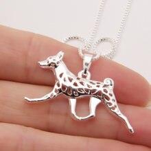 Basenji движение собака ожерелье для любителей собак paw Печати