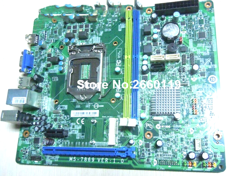 ФОТО 100% Working Desktop Motherboard For Acer MS-7869 V1.0 DDR3 H81 LGA1150 System Board fully tested and cheap shipping