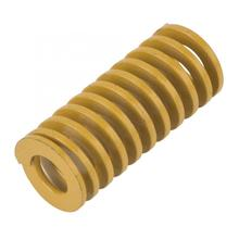 OD 20mm ID 10mm Extra Light Load Mould Die Spring Yellow spring bar tool tension spring compression spring все цены