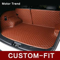 Custom fit car trunk mat for Mitsubishi   ASX Pajero V73 V93 3D car styling all weather tray carpet cargo liner