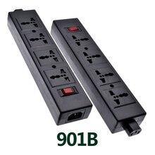 Protecteur de surcharge de bande dalimentation de laboratoire, bande de PDU avec la prise universelle dobturateur de sécurité prolongent avec la prise IEC320 C13