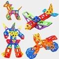 Set Standard Size Magnetic Designer Toy Kids Educational Toys ABS Plastic Creative Bricks Enlighten Magnetic Building Blocks