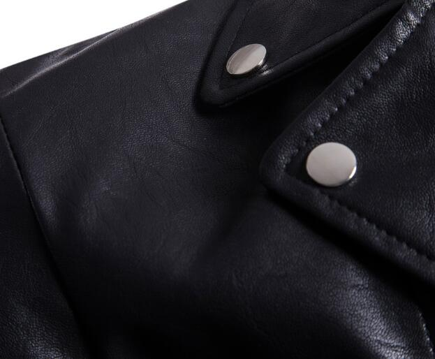 2019 New Winter Men Genuine Leather Jacket Slim Fit Waterproof Warm Male Jackets Coats High Quality Motorcycle Hip Hop Clothing