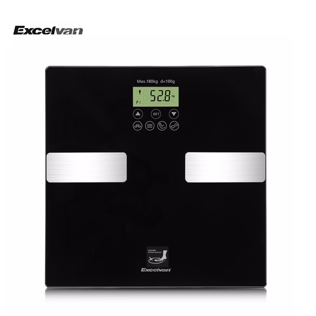 2017 New Excelvan Touch 400 lb(180kg) Digital Body Fat Scale Smart ...