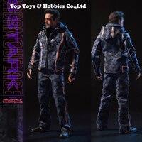Pre sale Custom DJ 011 Tony Nano Battle Casual clothes Avengers Movie F 12 Inches HT TTM21 Body Male Action Figures