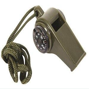 Открытый Инструменты Пеший Туризм Кемпинг Многофункциональный 3 в 1 выживания свисток компас термометр