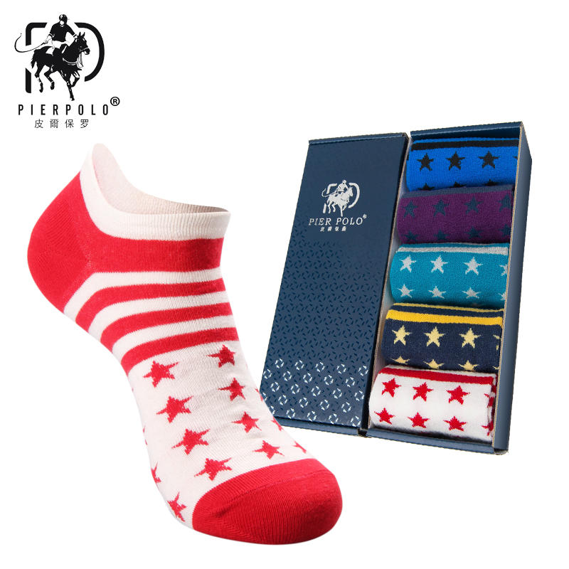 High Quality Brand Polo Men Socks Men Short Cotton Ankle Socks For Men Low Cut SocksMale Casual Colorful Striped Socks /(NO BOX)