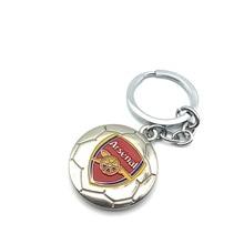 Arsenal Football Club Soccer Team Logo 3D Metal Pendant Keychain Keyring Crest