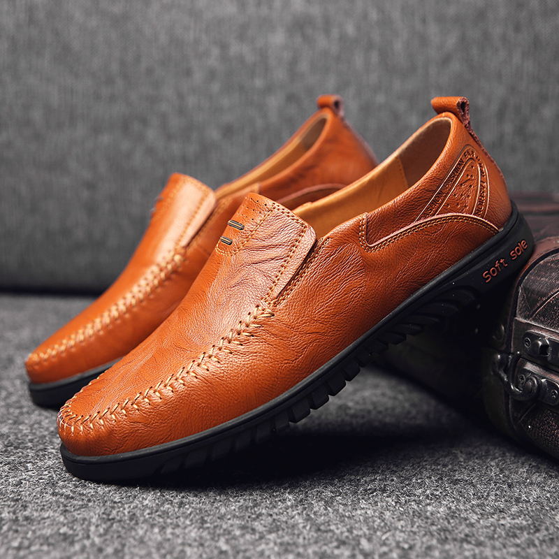 HTB13b8YaLvsK1Rjy0Fiq6zwtXXaR Genuine Leather Men Casual Shoes Luxury Brand Designer Mens Loafers Moccasins Breathable Slip on Driving Shoes Plus Size 37-47
