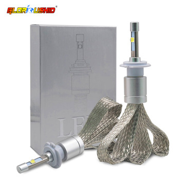 Led H4 H7 H3 H11 H8 H9 9005 HB3 9006 HB4 Headlight Bulbs 80W 9600LM Automobile headlamp Fog Light 6000k White Car Lamp
