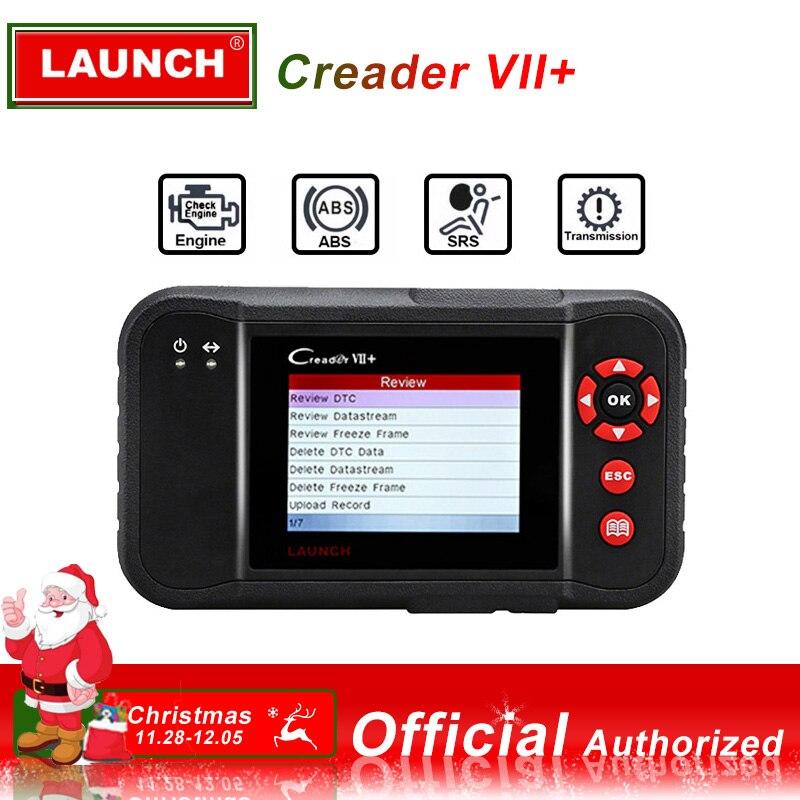 Lancement X431 Creader VII Plus VII + de Code Automatique Lecteur OBD2 OBD 2 Scanner Lancement CRP123 OBDII Outil De Diagnostic Automobile outil d'analyse