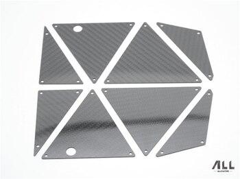 carbon fiber side protection plate armor skid for 1/7 TRAXXAS UDR Rc Crawler Car Part