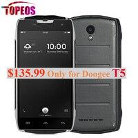 ต้นฉบับDOOGEE T5 MTK6735 Q O Ctaหลักโทรศัพท์มือถือโทรศัพท์5.0 ''Android 6.0กันน้ำIP67 3กิกะไบต์RAM + 32กิกะไบต์รอม4500มิลลิแอ...