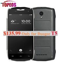 """Оригинал doogee t5 mtk6735 окта основные мобильный телефон 5.0 """"android 6.0 водонепроницаемый IP67 3 ГБ RAM + 32 ГБ ROM 4500 мАч OTG 13MP 4 Г LTE OTG"""