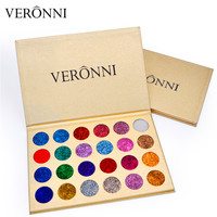 In Stock Brand VERONNI Professional Beauty Cosmetics Easy To Wear Eye Shadow 24 Colors Makeup Glitter