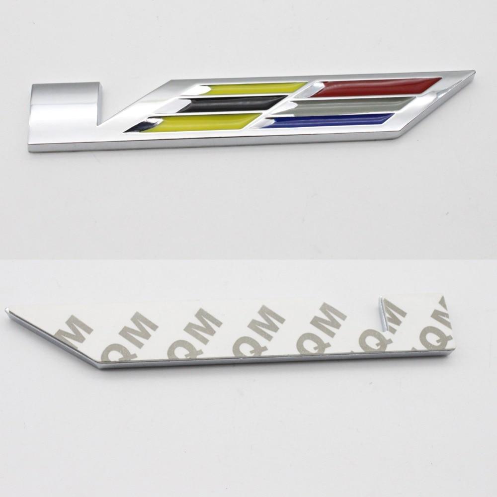 Dsycar 3d Metal V Cts Nuclear Powered Wtf Car Sticker Logo Emblem