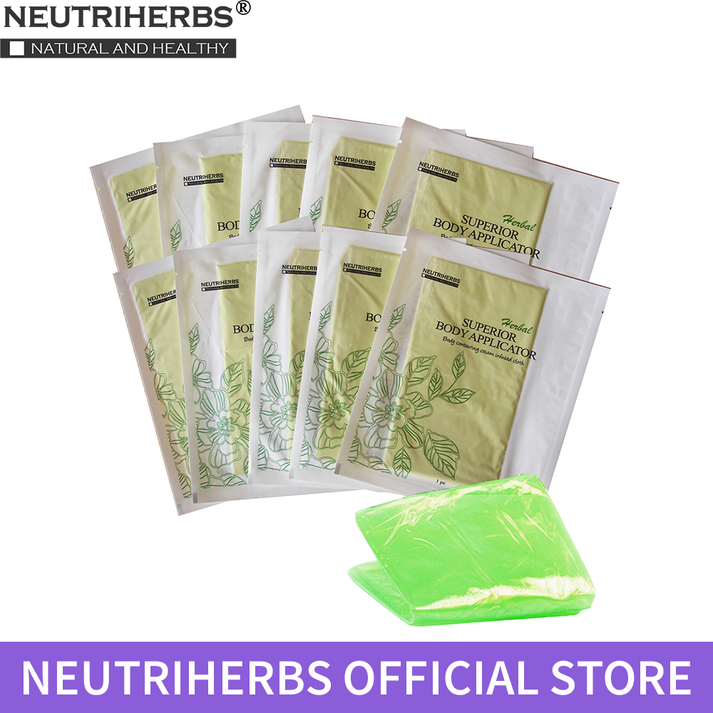 10 pcs Neutriherbs Body Applicator Skin Tightening, Firming Cream It Works to Stretch Marks Removal Weight Loss                 10 pcs Neutriherbs Body Applicator Skin Tightening, Firming Cream It Works to Stretch Marks Removal Weight Loss