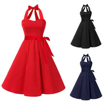 5b92354cfc8 Women Evening Dress Boob Tube Top Slim Fit Halter Backless Pleated Party  Dress JL(China