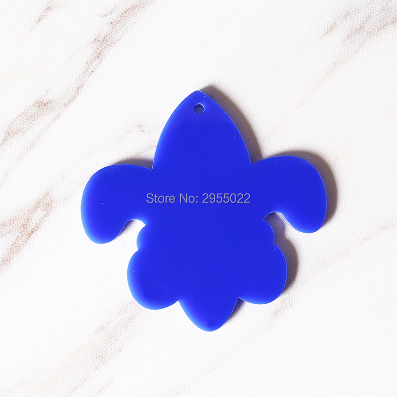 US $13 79 8% OFF|DIY Acrylic blank for vinyl Keychain Blanks,Laser Cut key  chains,Fleur De Lis Ornament Key Chain-in Party DIY Decorations from Home &