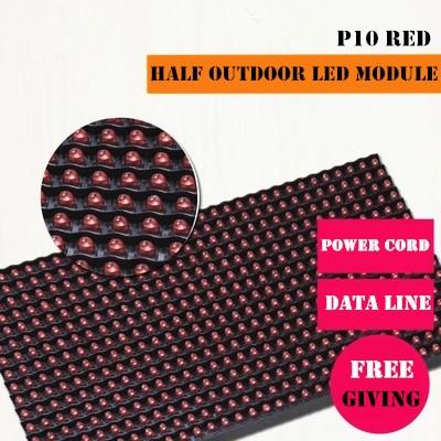 Semi-exterior-de alto brillo rojo P10 módulo LED para un solo color desplazamiento de la pantalla led mensaje LED 320*160mm 32*16 píxeles Película de vidrio templado curvada 20D para Huawei P10 Lite P20 Lite P30 Pro película protectora de pantalla P30 de vidrio de la cubierta completa