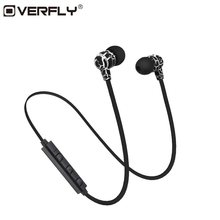 26fd27f97ff Overfly Wireless Bluetooth Headphones Earphones Sport Running Headset  Stereo Super Bass Headset Earbuds Handsfree With Mic