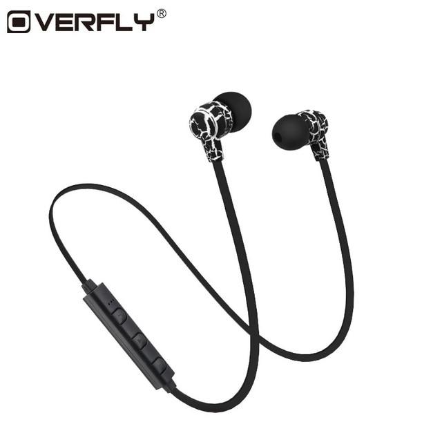 Overfly Wireless Bluetooth Headphones Earphones Sport Running Headset Stereo Super Bass Headset Earbuds Handsfree With Mic