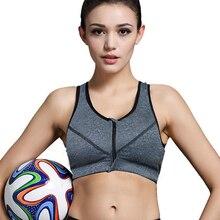 2016 Sexy Women Yoga Bra Sports Bra for Running Gym Fitness Athletic Bras Padded Push Up Tank Tops For Girls Sportswear S/M/L